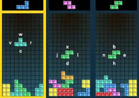 Harf Tetrisi