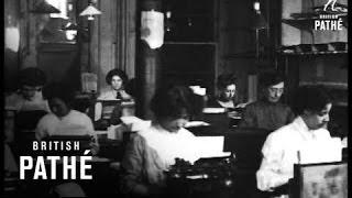 1910-1920 Klavye Daktilografları