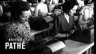İtalya Daktilo Yazı Yarışması 1949